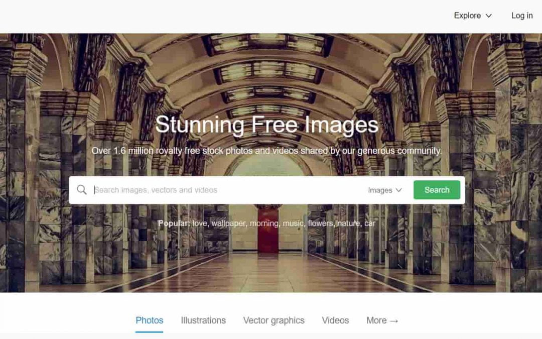 Where to get images for your websites